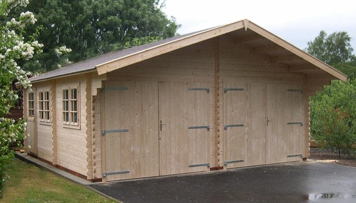 Garage Bois Aménagement Extérieur Habsheim